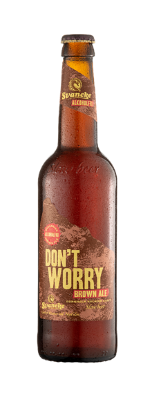 Fadøl: Svaneke Bryghus - Don't Worry Brown Ale